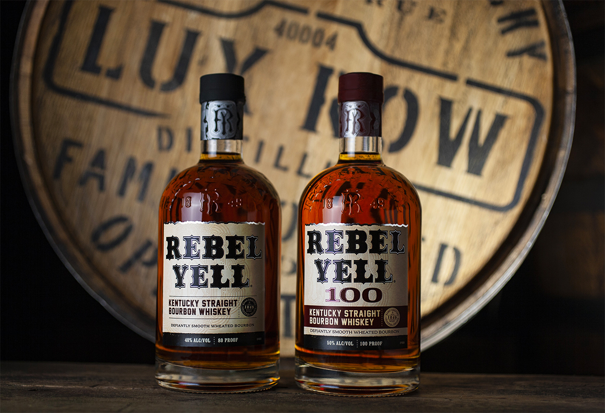 Rebel Yell Kentucky Straight Bourbon 100 Proof