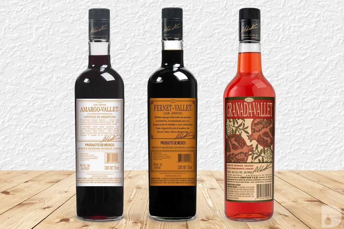 Mexican Spirits: Amargo-Vallet Angostura, Fernet-Vallet & Granada-Vallet