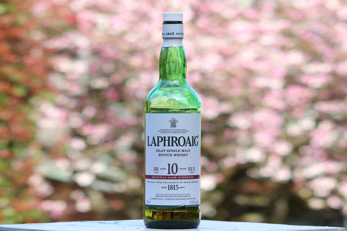 Cask Strength Scotch: Laphroaig 10 Year Cask Strength