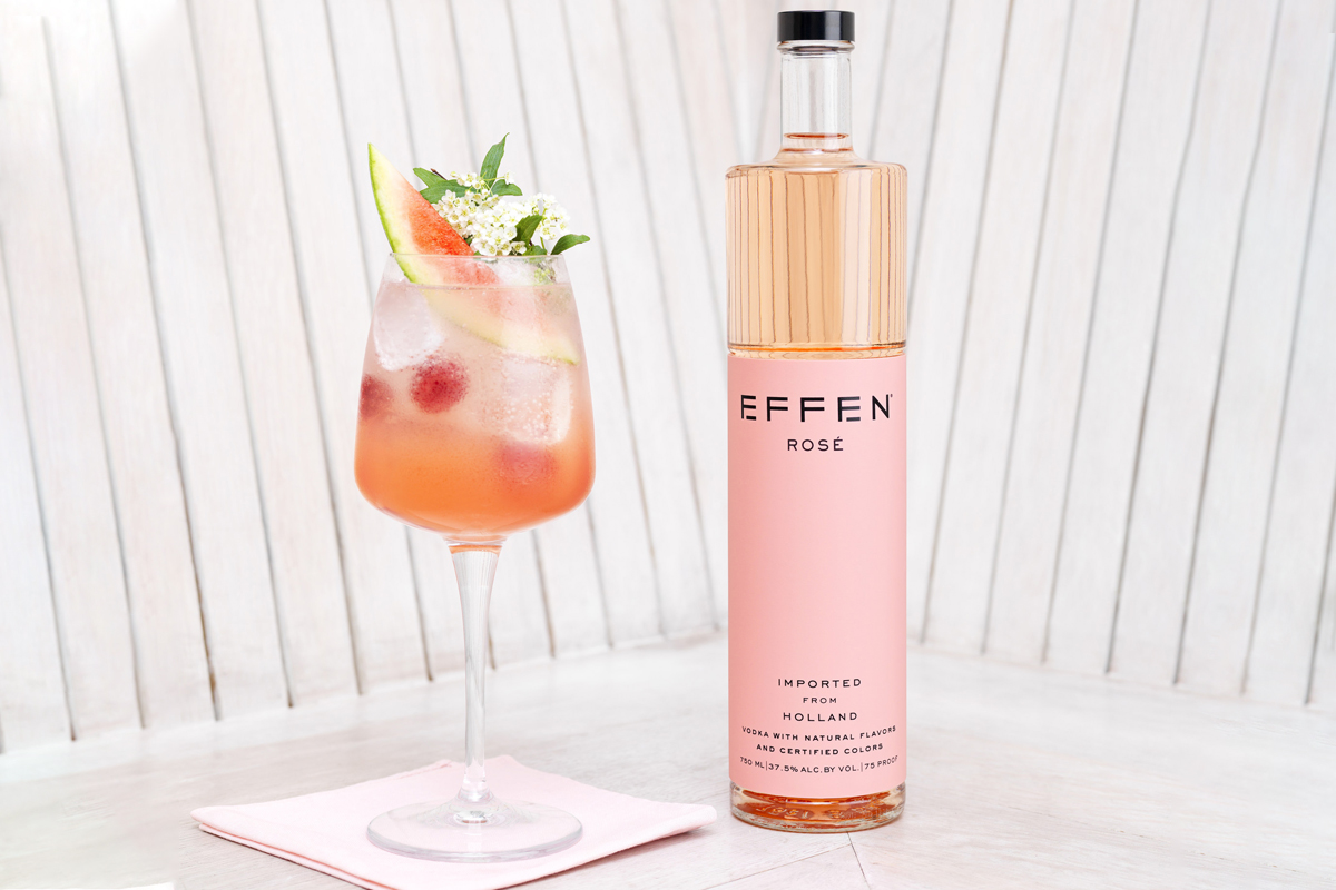 Mother's Day Spirits: Effen Rosé Vodka