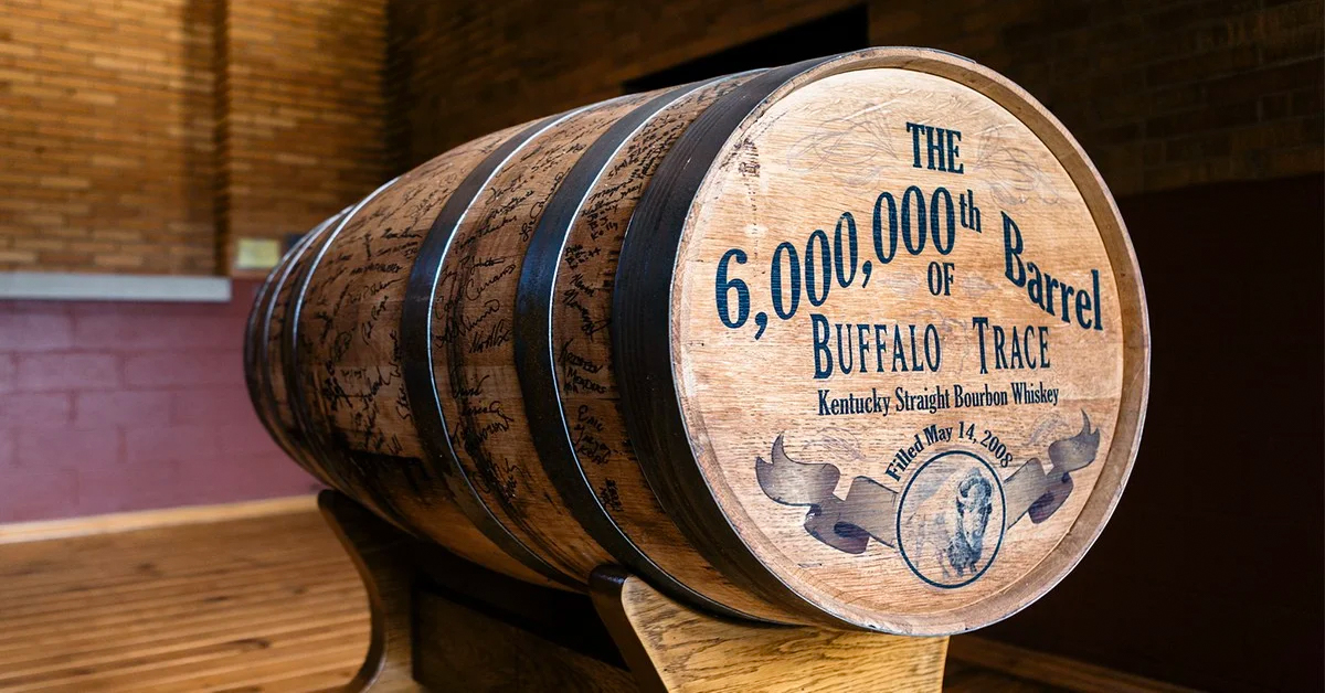 Buffalo Trace Donates Whiskey From 6 Millionth Barrel To Charities