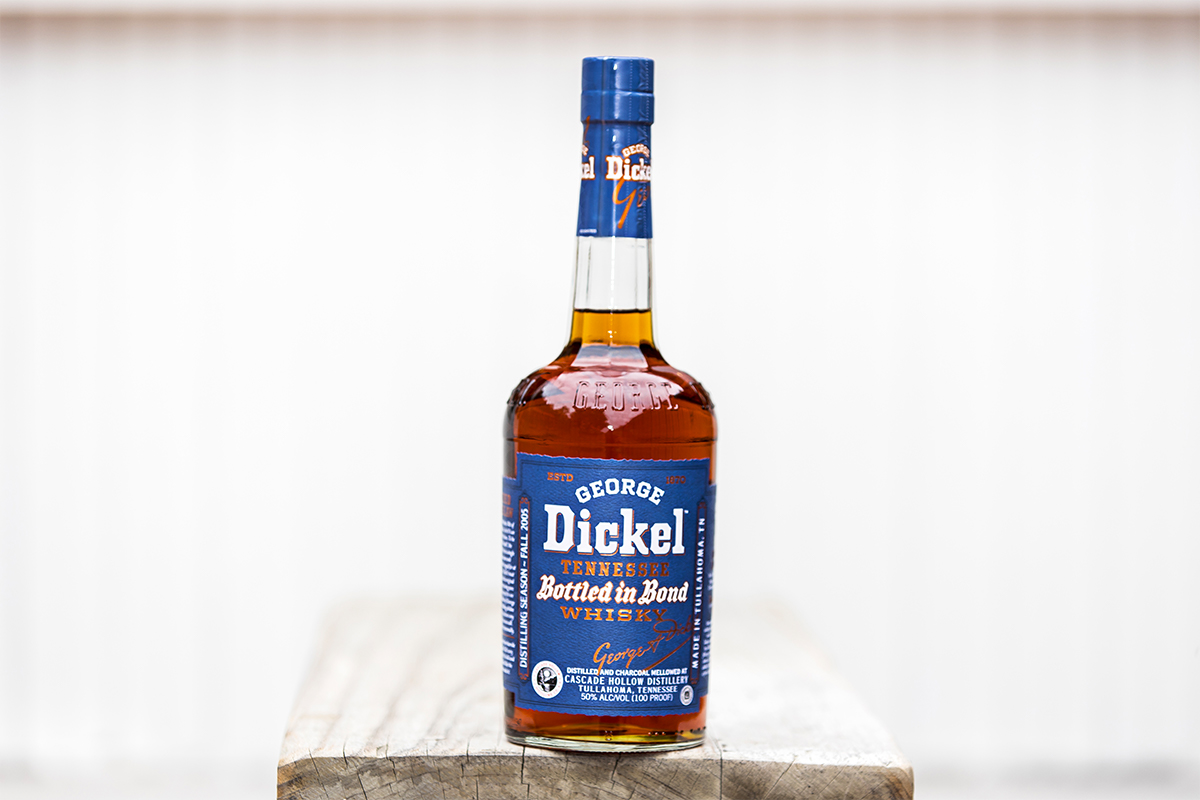 George Dickel Bottled In Bond Tennessee Whisky 13 Year