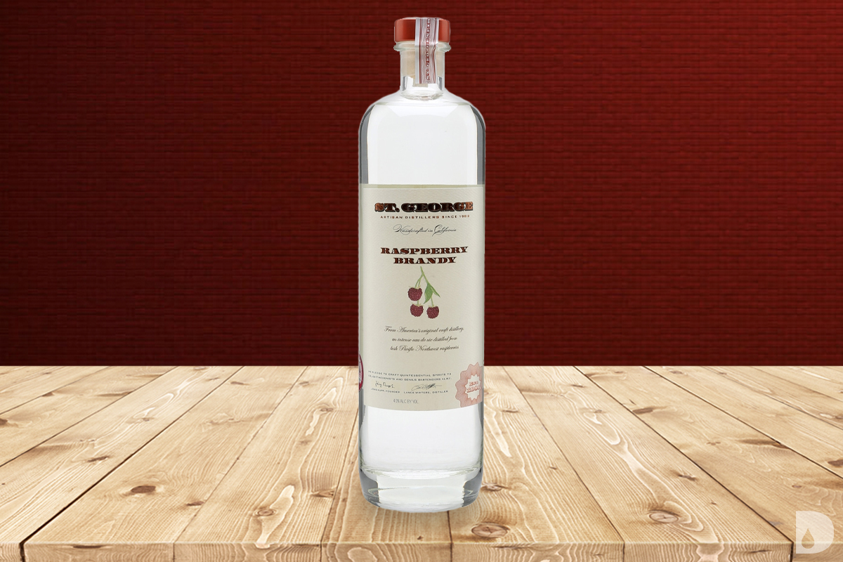 eau-de-vie: St. George Raspberry Brandy