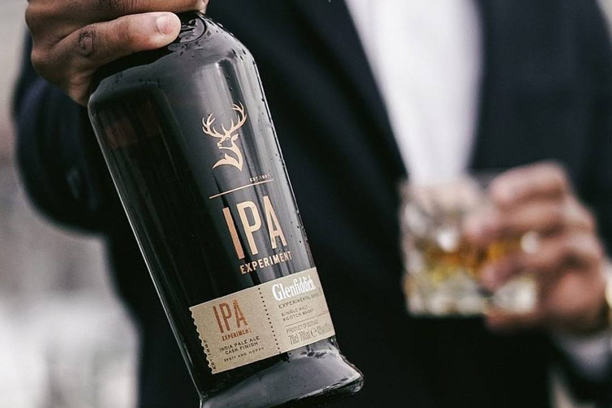 Whiskey and Vermouth Pairings: Glenfiddich IPA