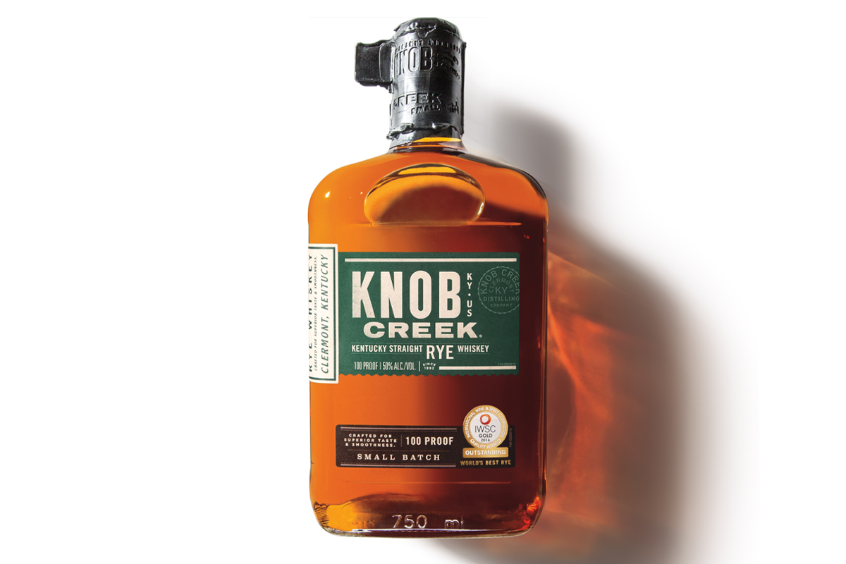 Whiskey and Vermouth Pairings: Knob Creek Straight Rye