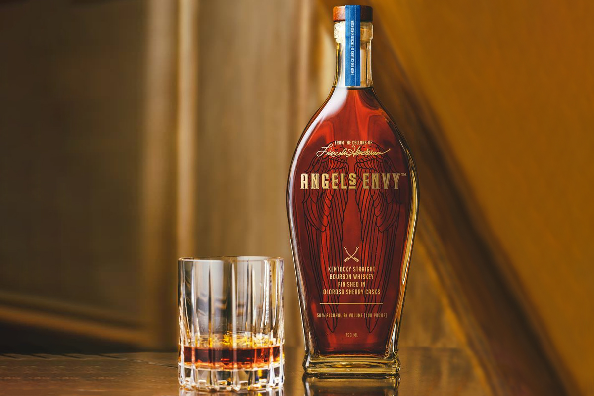 Father's Day Whiskey: Angel's Envy Bourbon Finished in Oloroso Sherry Casks