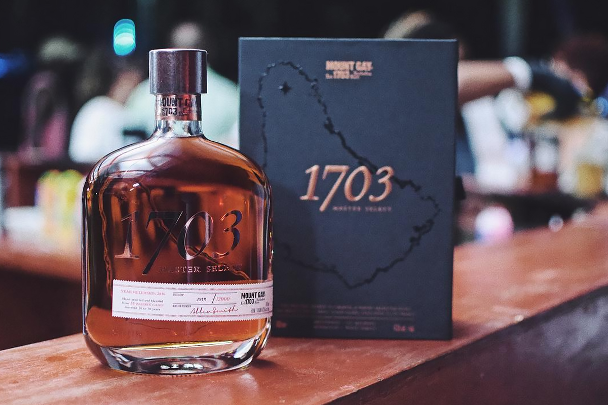 Father's Day Spirits: Mount Gay 1703 Master Select Rum