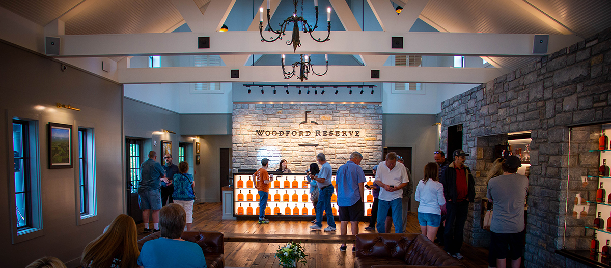 Woodford Reserve Opens New Welcome Center