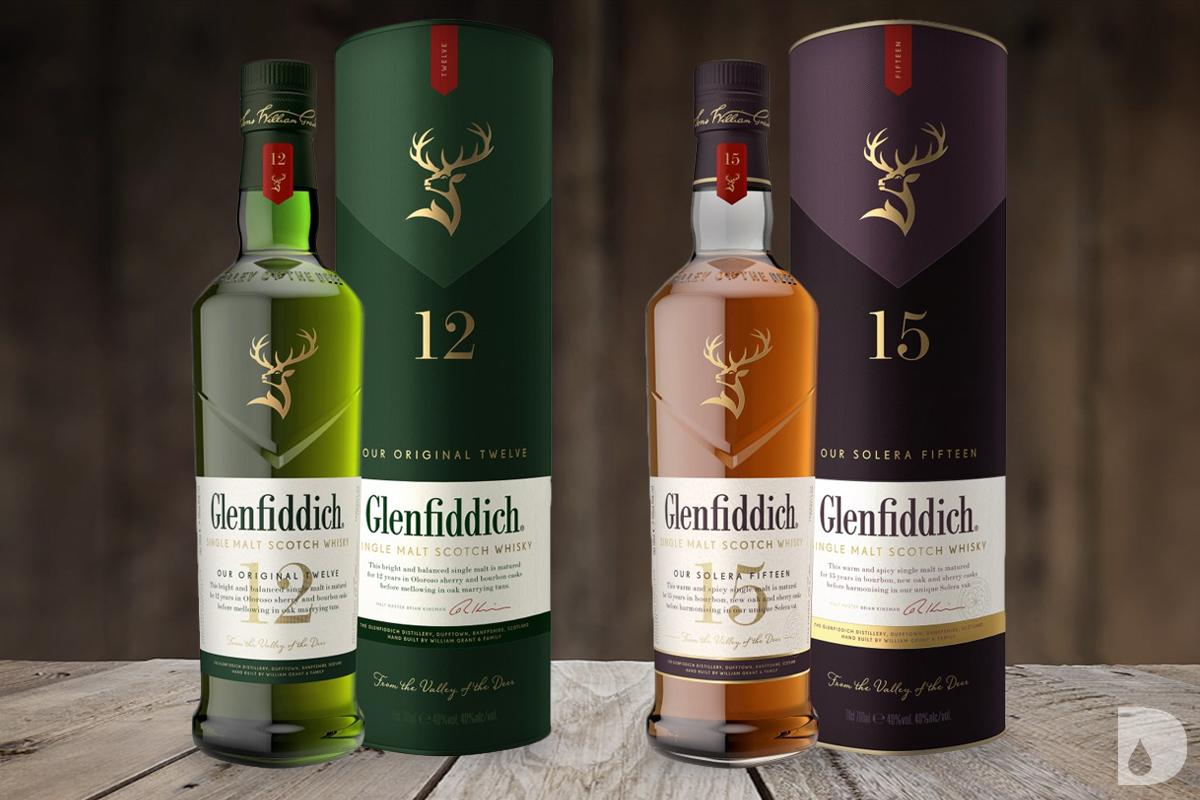 Glenfiddich Our Original Twelve & Glenfiddich Our Solera Fifteen