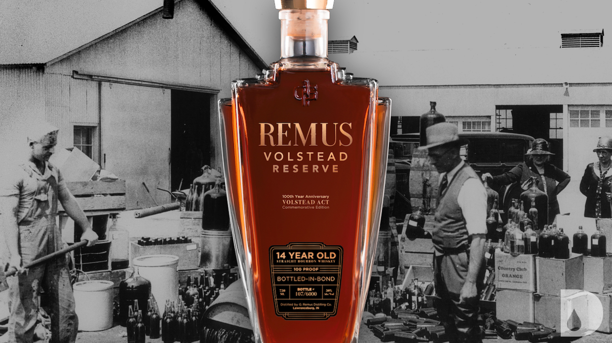 Remus Volstead Reserve 14 Year Bottled In Bond Bourbon