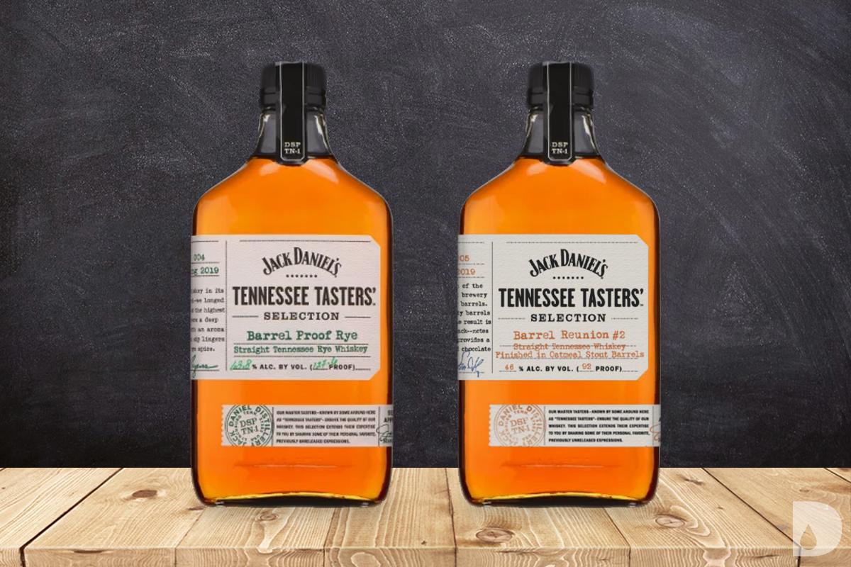 Jack Daniel's Tennessee Tasters' Barrel Proof Rye and Reunion Barrel #2