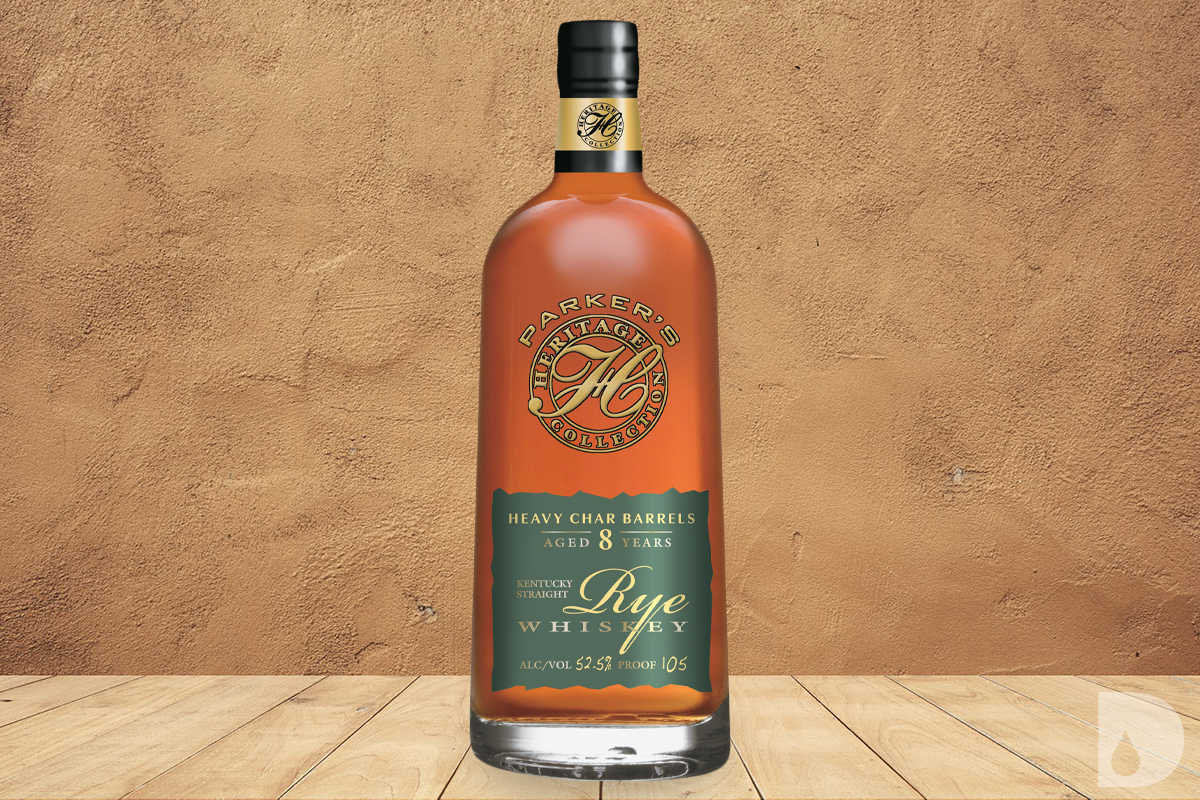 Parker's Heritage Heavy Char Rye Whiskey 8 Year