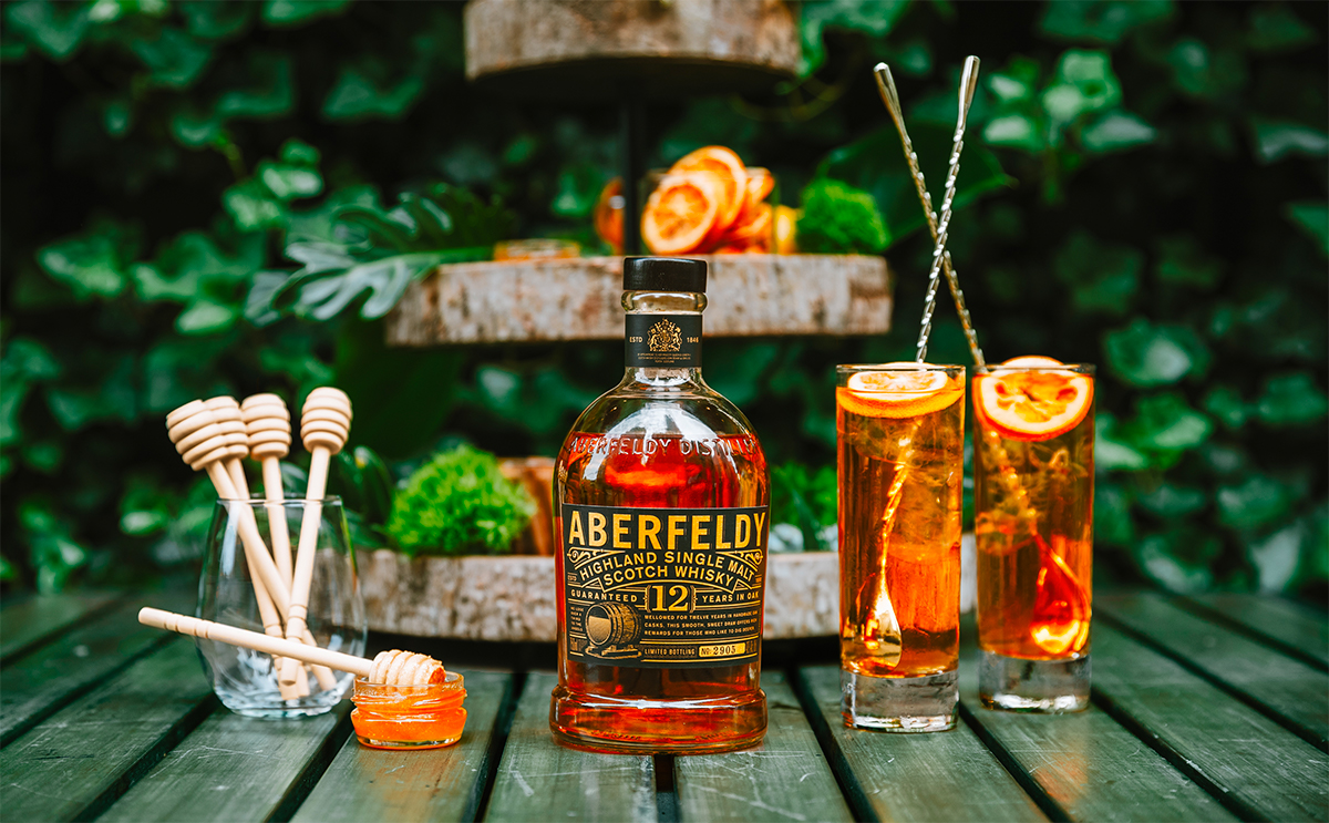 Aberfeldy Launches Adopt-A-Bee Cocktail Program
