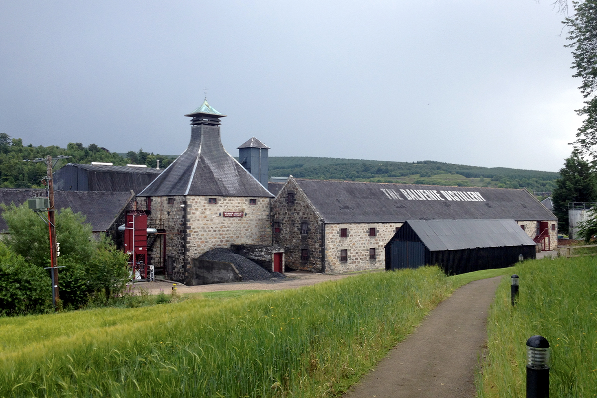 Best Scottish Distillery Tours: Balvenie Distillery