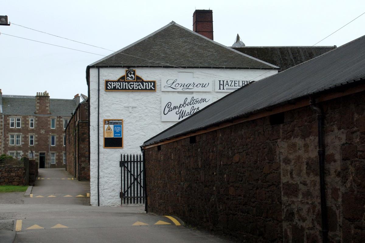 Best Scottish Distillery Tours: Springbank Distillery