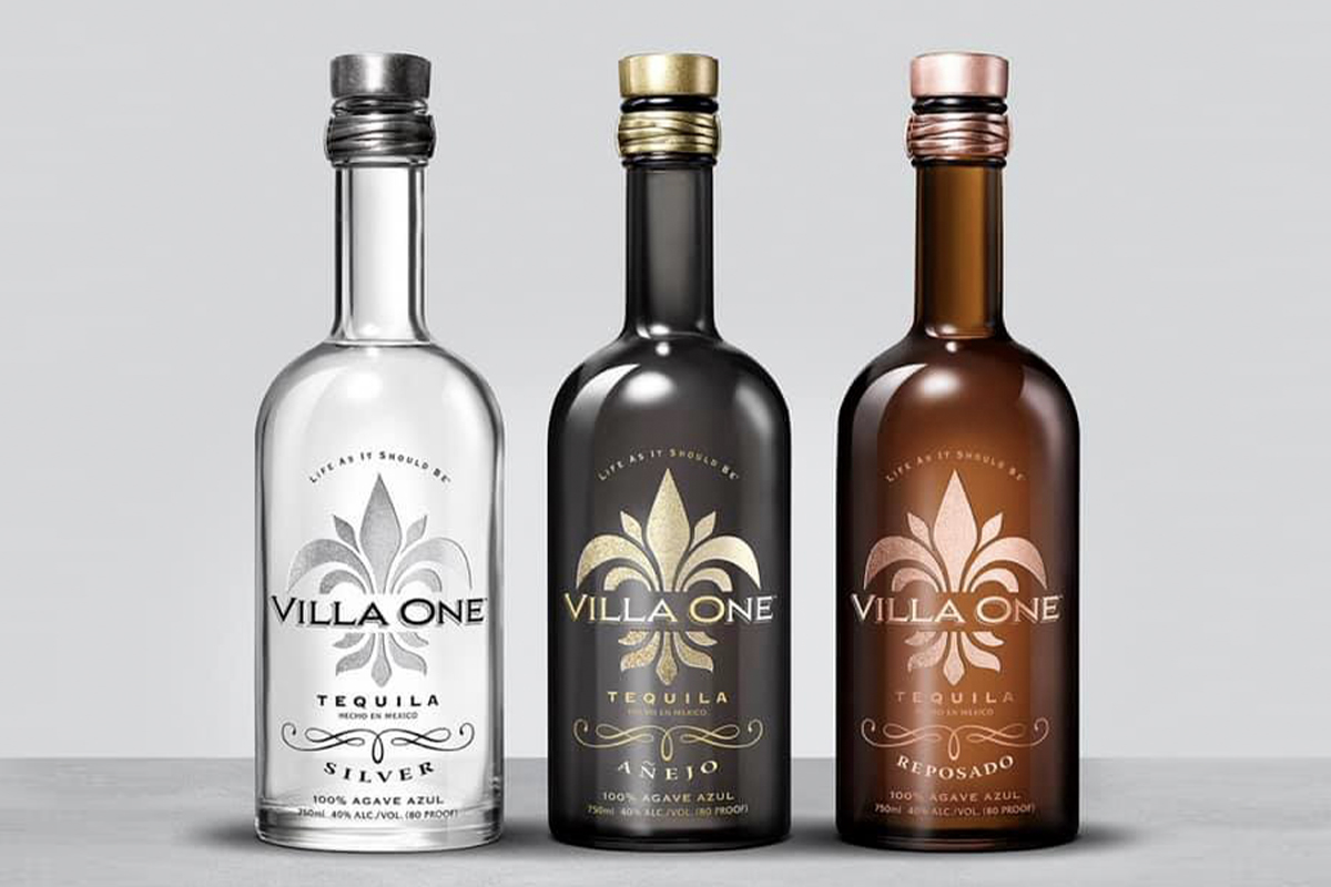 Villa One tequilas