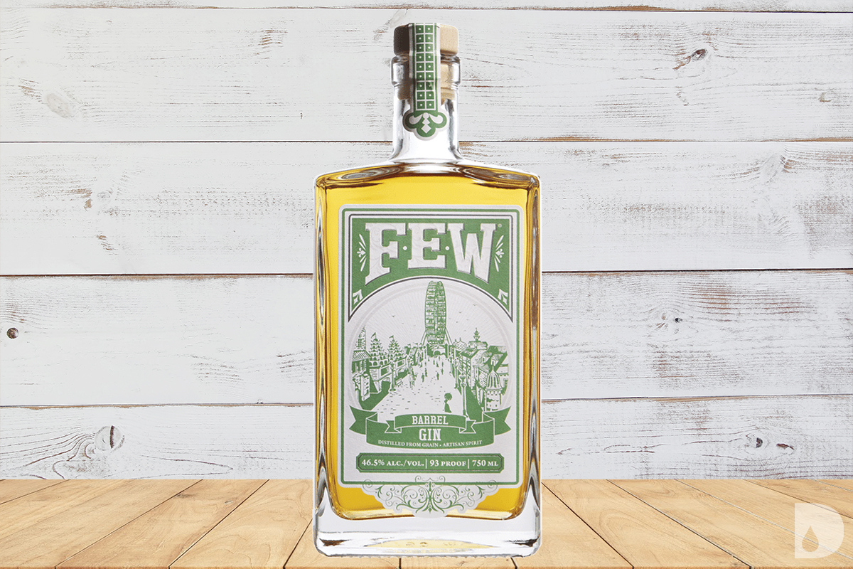american barrel aged gin: FEW Barrel Gin