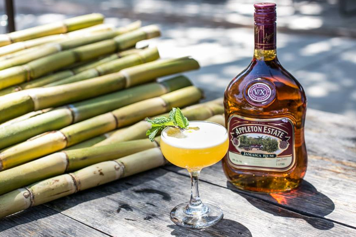 funky jamaican rum: Appleton Estate V/X