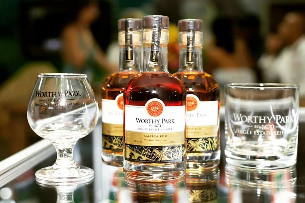 funky jamaican rum: Worthy Park Single Estate Reserve