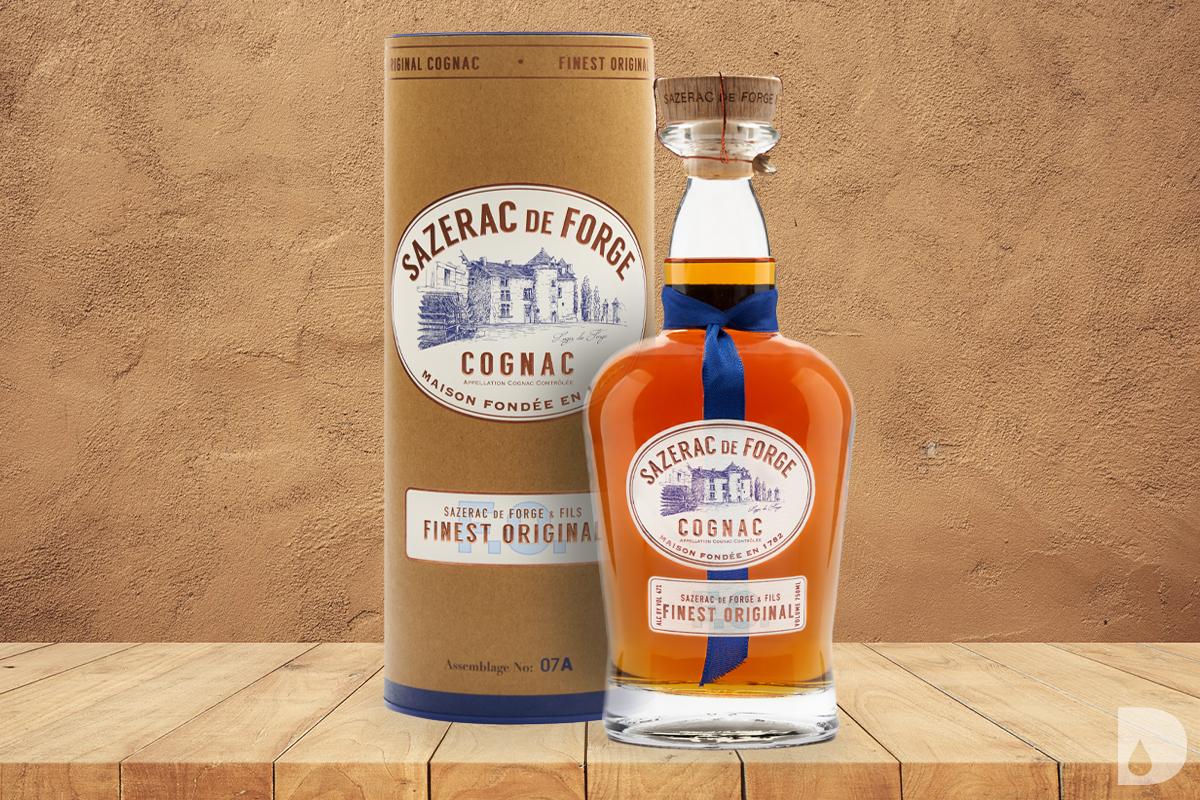"""Sazerac de Forge & Fils """"Finest Original"""" Cognac"""