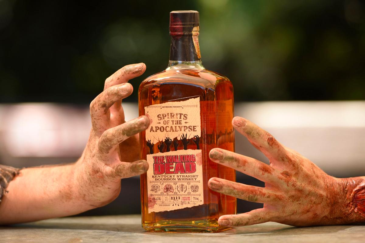 The Walking Dead Kentucky Straight Bourbon