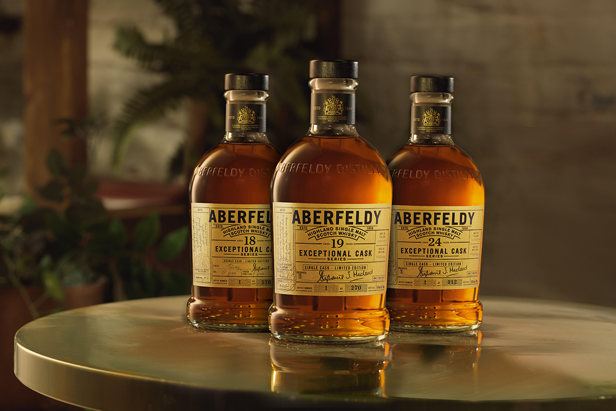 Aberfeldy Exceptional Cask Whiskies