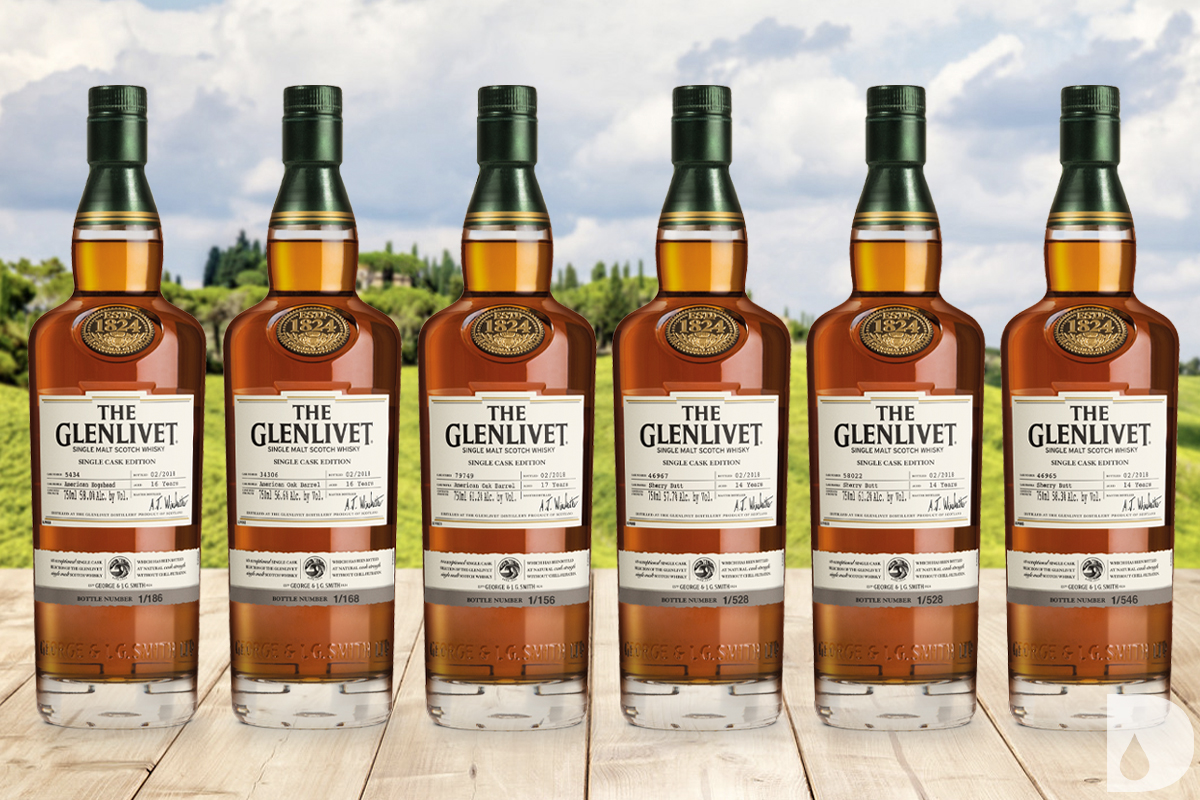 The Glenlivet Single Cask Editions