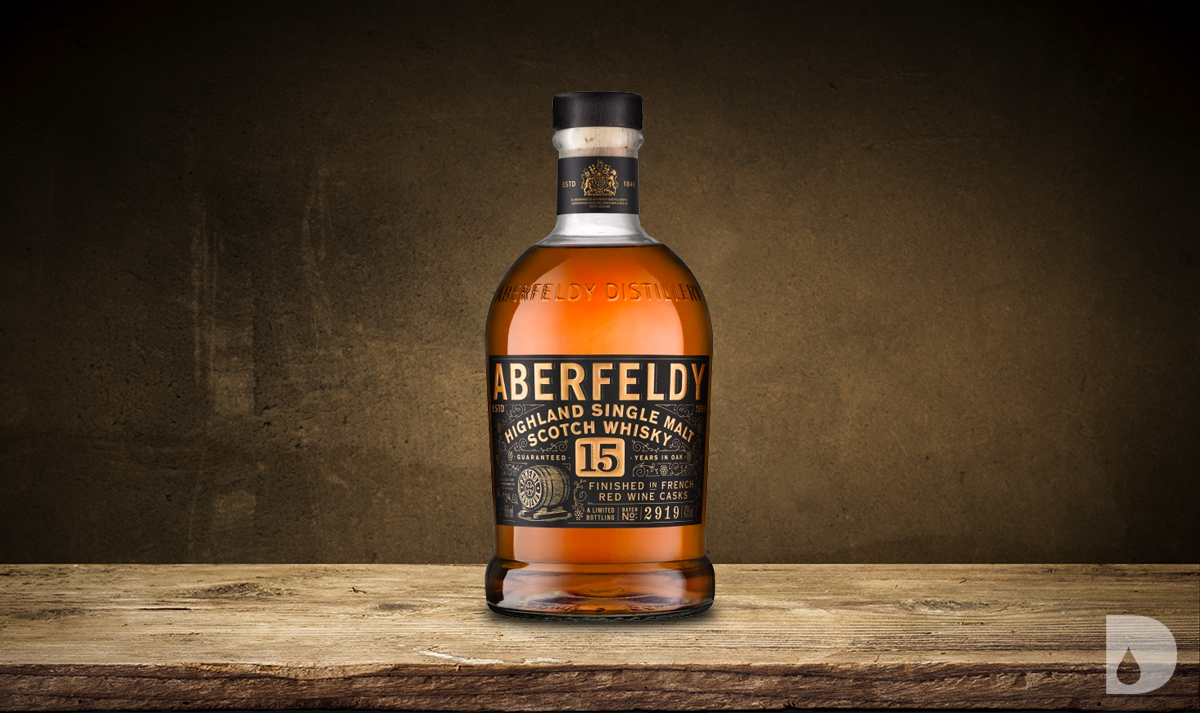 Aberfeldy 15 Year French Red Wine Cask Finish