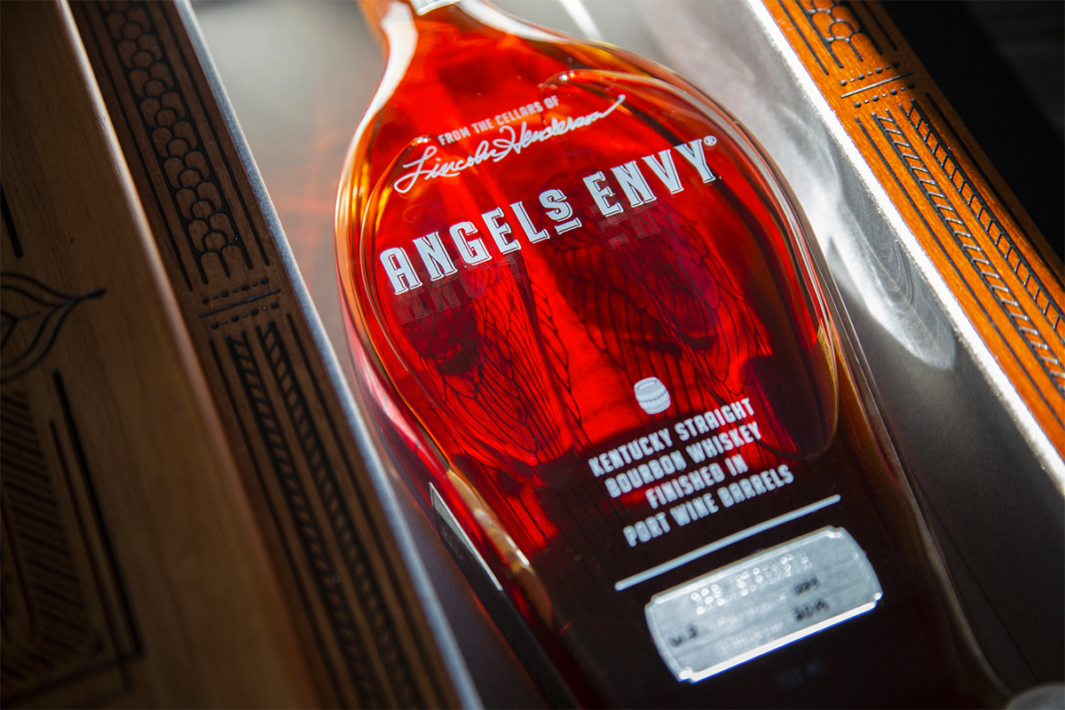 Angel's Envy Bourbon Finished in Port Wine Barrels Cask Strength (2019 Edition)