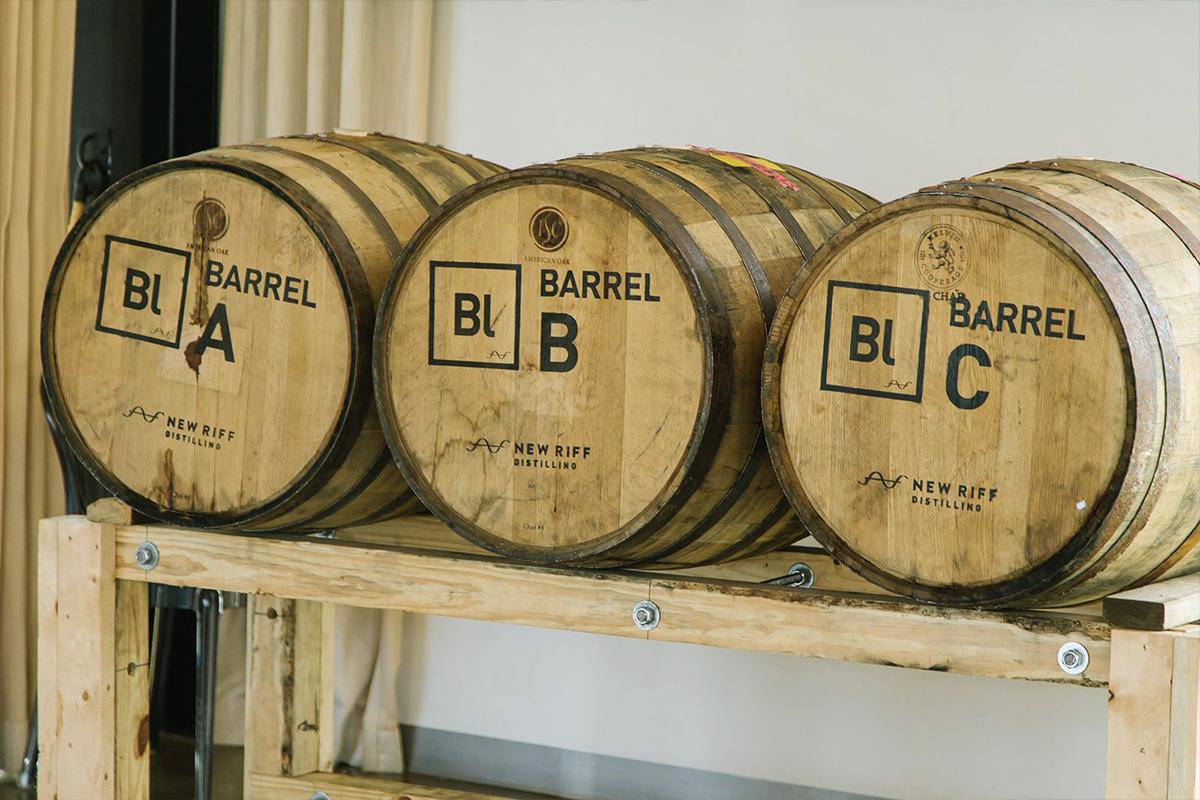 Craft Distilleries: Barrels at New Riff Distilling