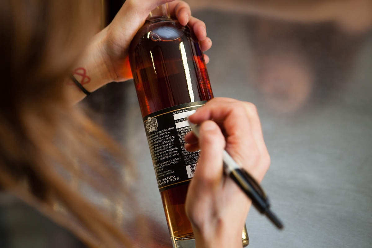 Craft Distilleries: Labeling at Smooth Ambler Distillery
