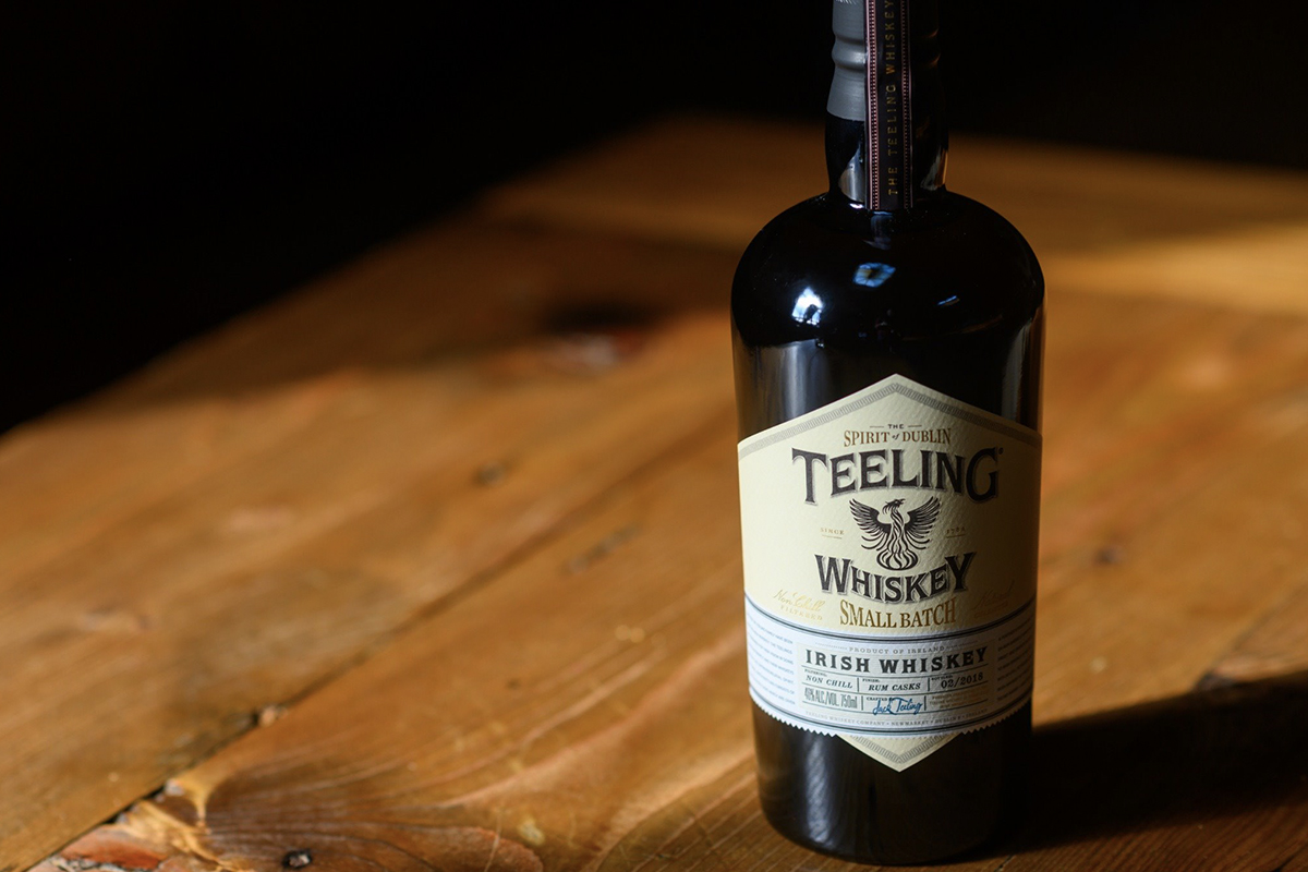 Thanksgiving whiskey: Teeling Small Batch Irish Whiskey