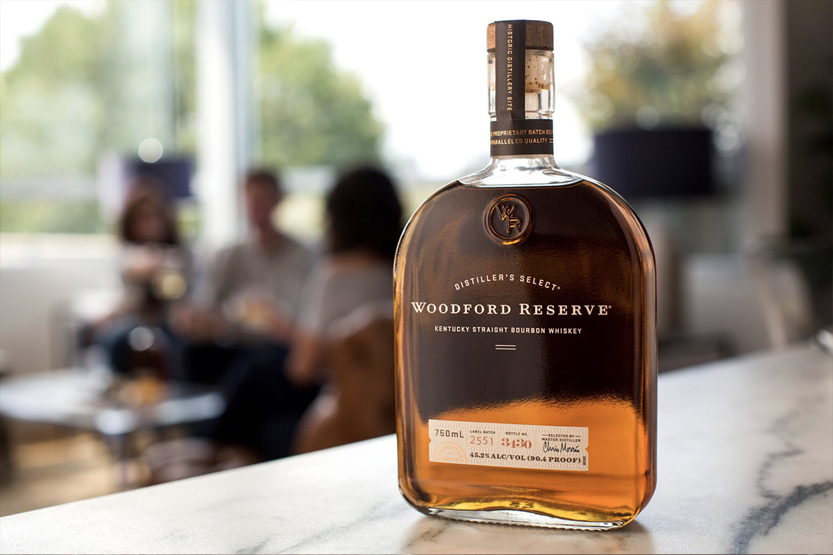 Thanksgiving whiskey: Woodford Reserve Bourbon