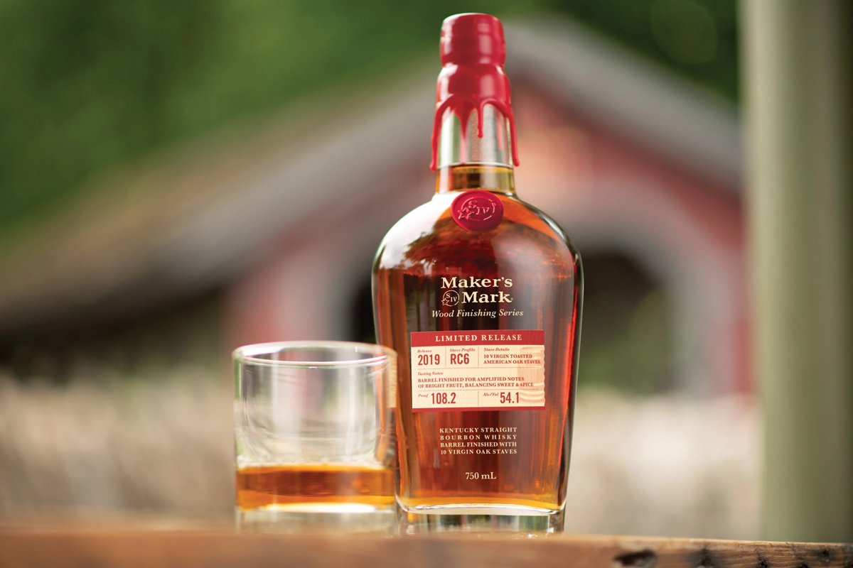 American whiskey gift guide: Maker's Mark Wood Finishing Series 2019 RC6