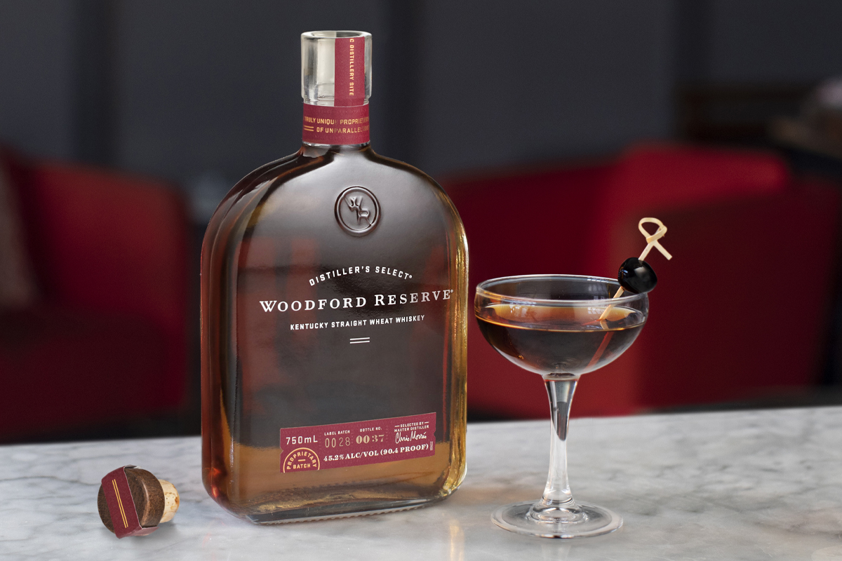 American whiskey gift guide: Woodford Reserve Wheat Whiskey
