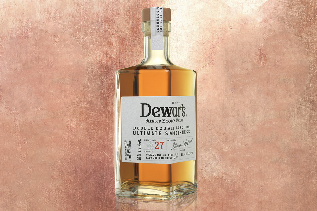 Scotch Whisky Gift Guide: Dewar's Double Double 27 Year
