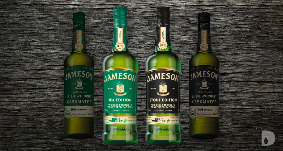 New Jameson Caskmates IPA and Stout Editions Labels