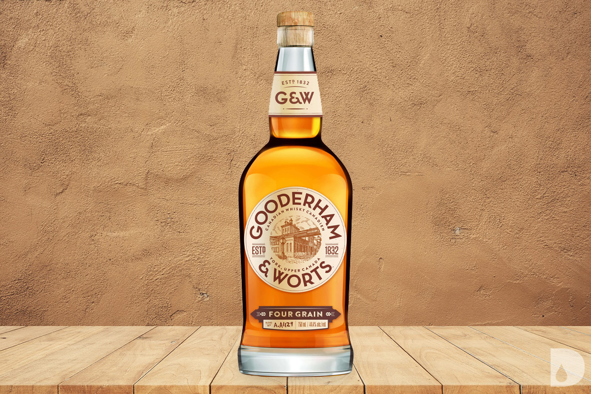 World Whiskey Gift Guide: Gooderham & Worts Four Grain Canadian Whisky