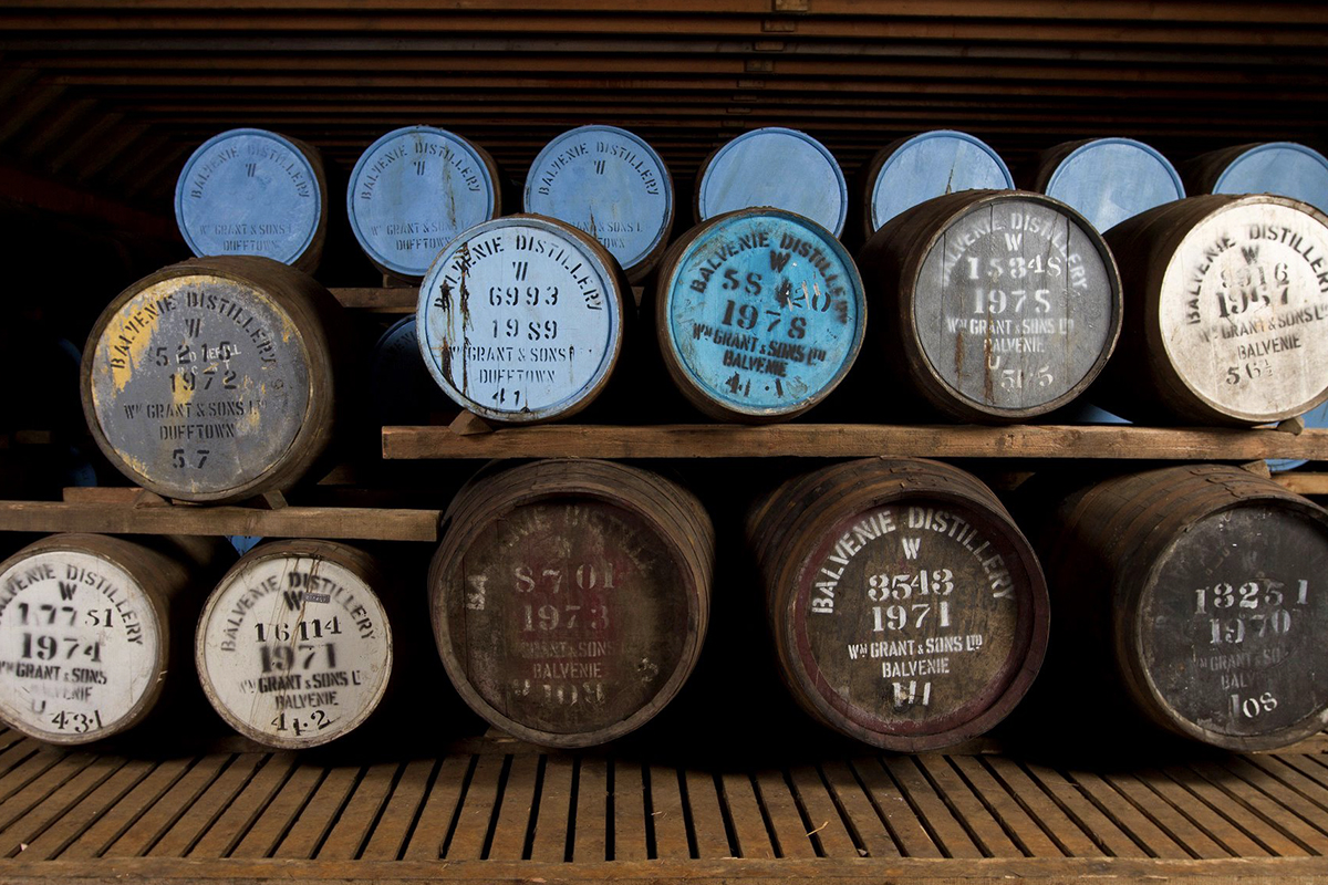 Whiskey Predictions: Old whisky at Balvenie