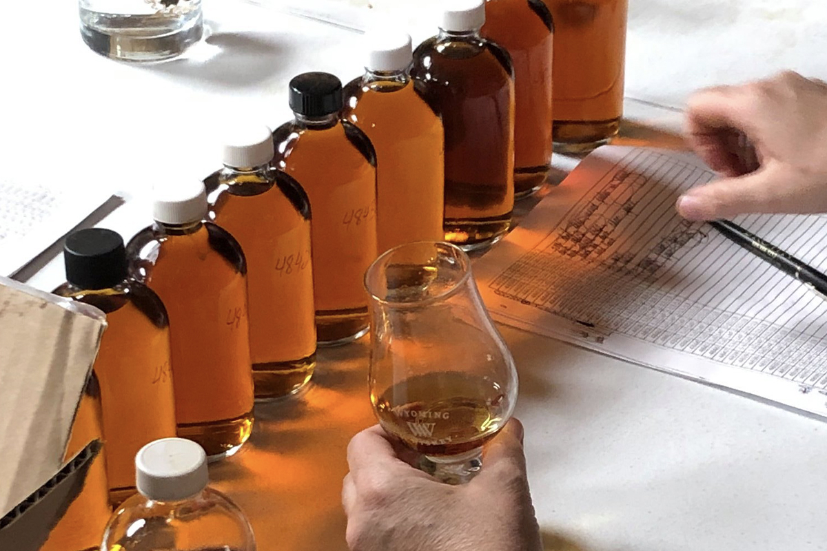 Whiskey Predictions: Whiskey selection at Wyoming Whiskey