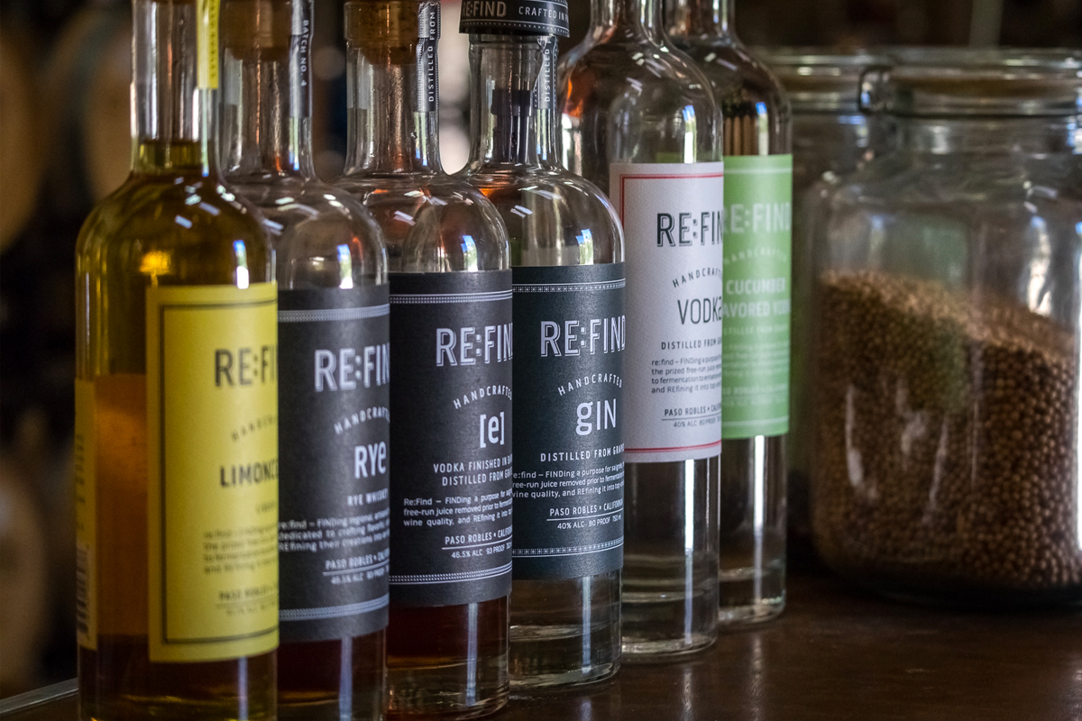 Paso Robles Spirits at RE:FIND Distillery
