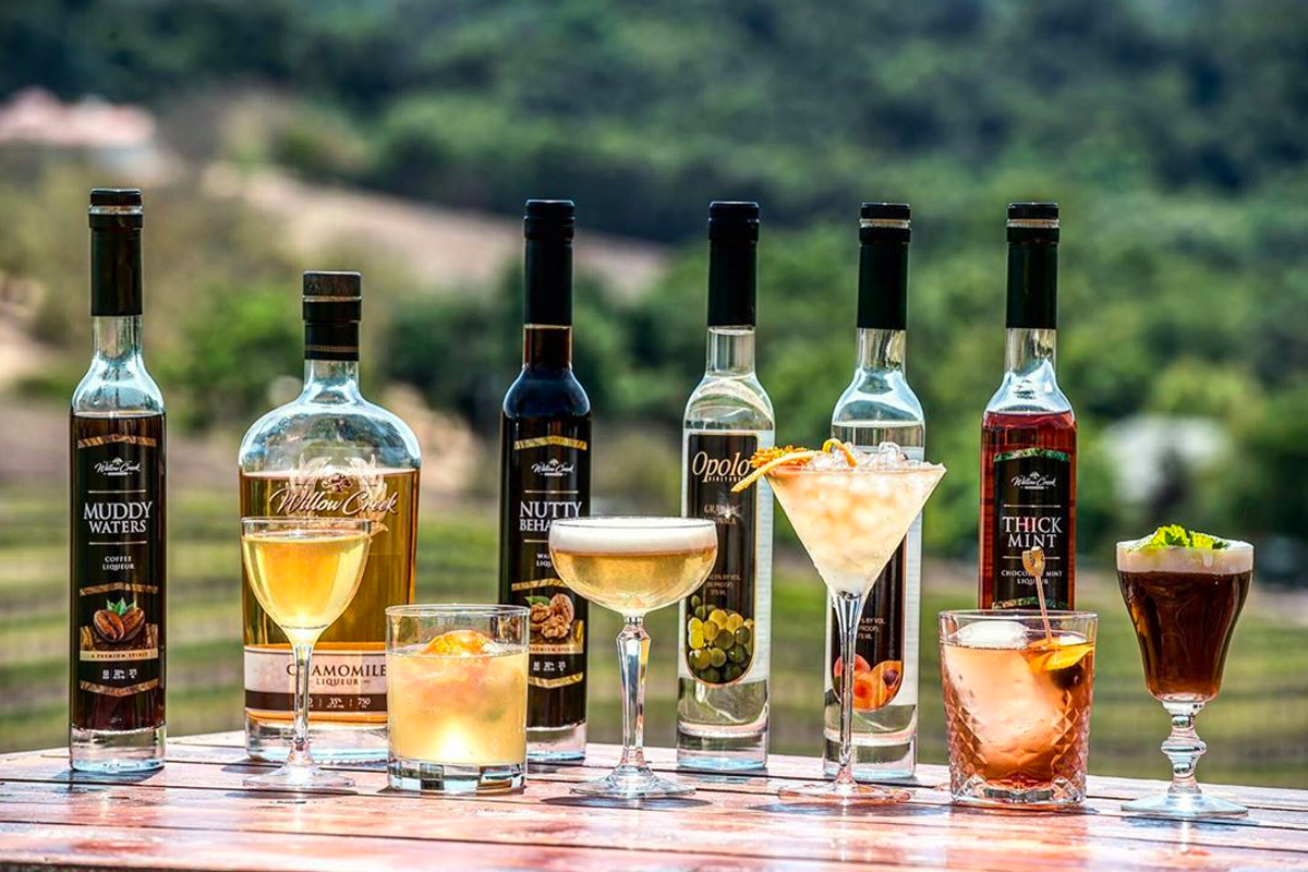 Paso Robles Spirits at Willow Creek Distillery