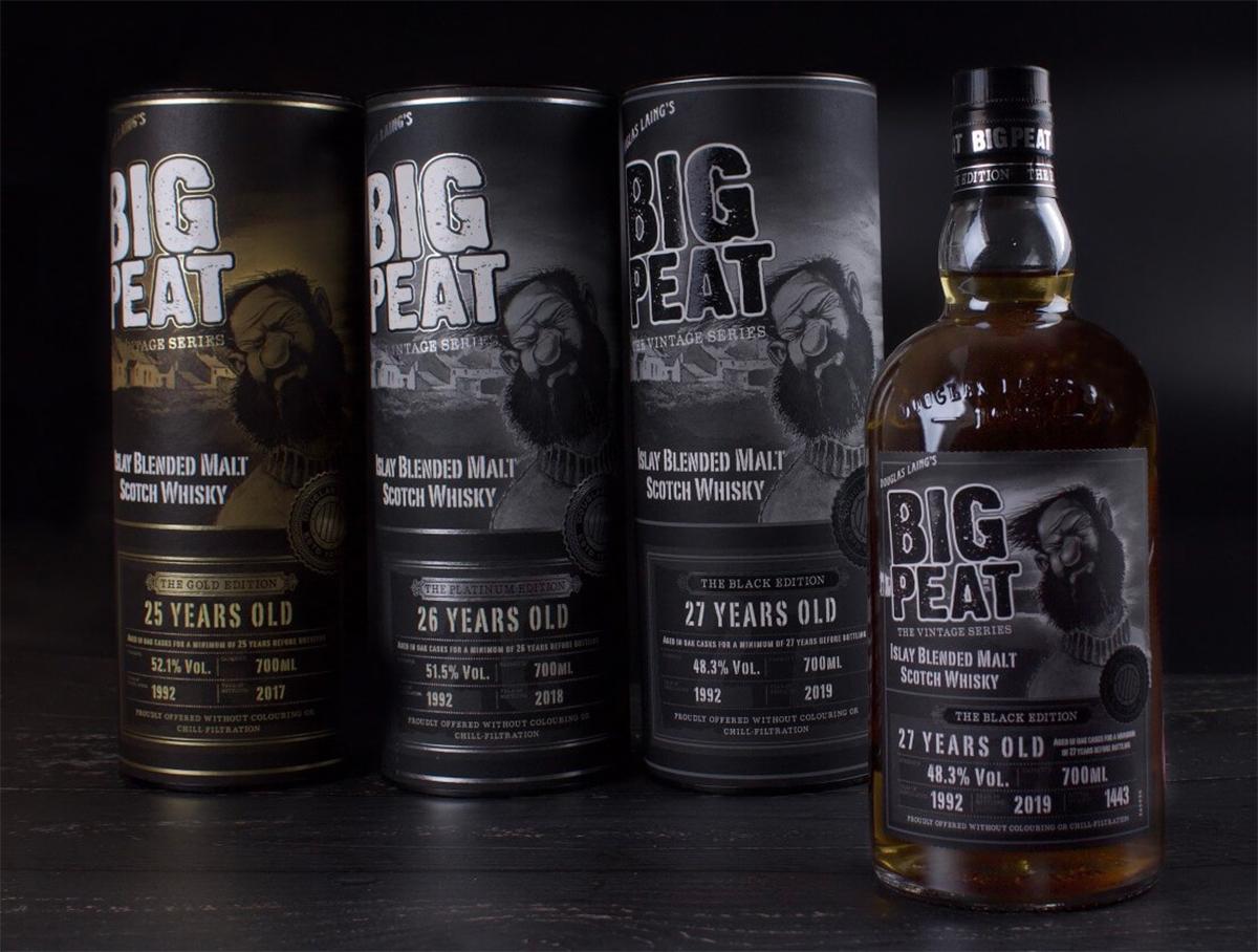 Big Peat 27 YearBlack Edition