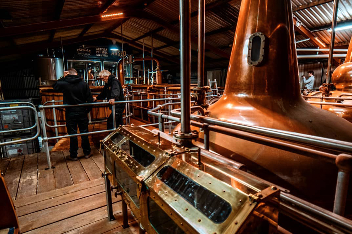 Irish Whiskey Distilleries: Dingle Distillery