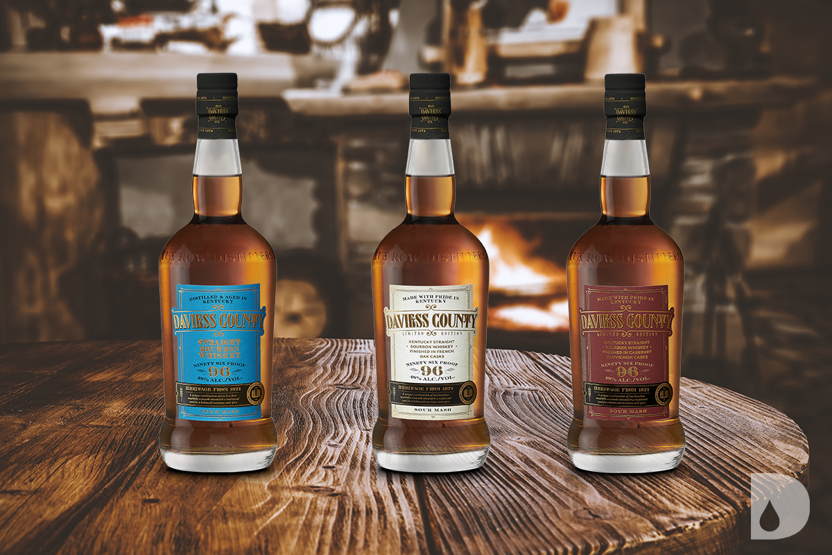 Lux Row Distillers Re-Launches Daviess County Kentucky Straight Bourbon Brand