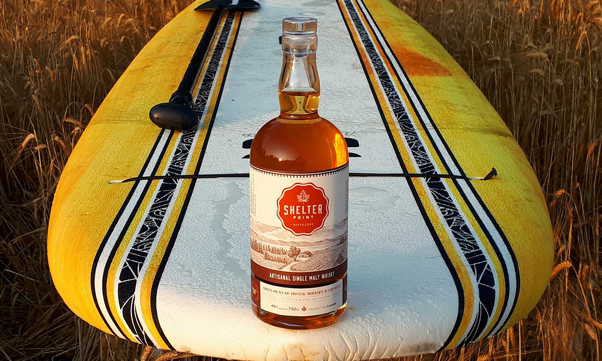 British Columbia Whisky: Shelter Point Artisanal Single Malt Whisky