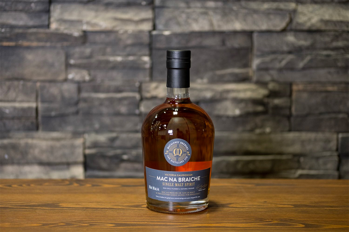 British Columbia Whisky: Victoria Caledonian Mac Na Braiche