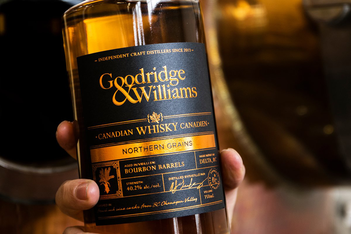 British Columbia Whisky: Goodridge & Williams Northern Grains