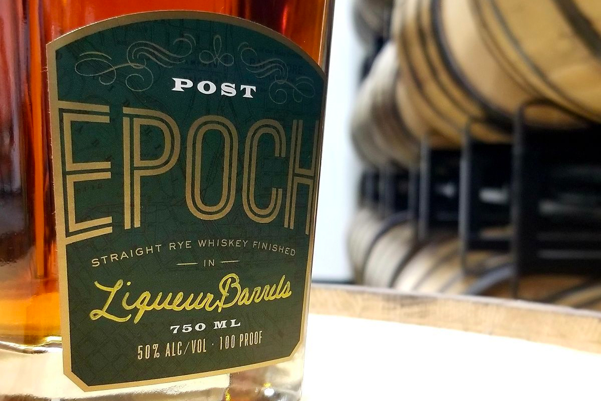 Post Epoch Straight Rye Finished In Liqueur Barrels
