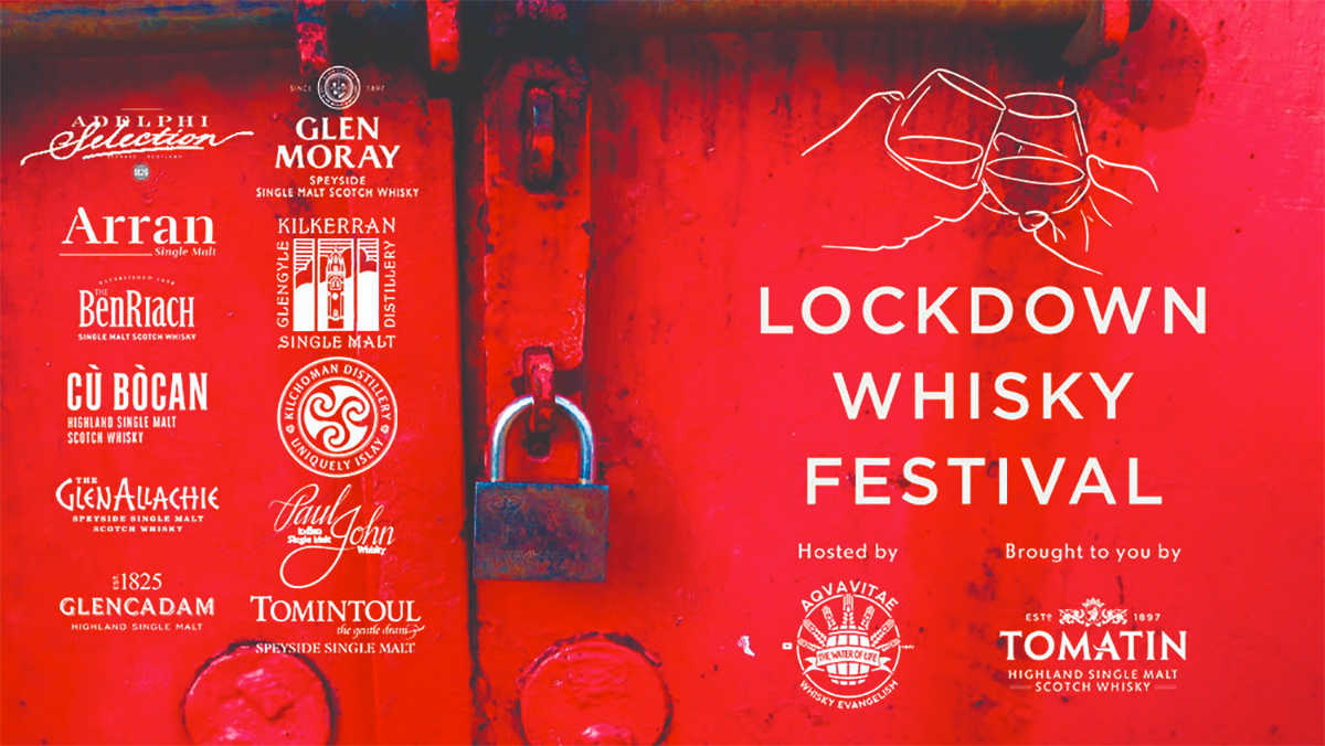 Tomatin Hosts 'Lockdown Whisky Festival'